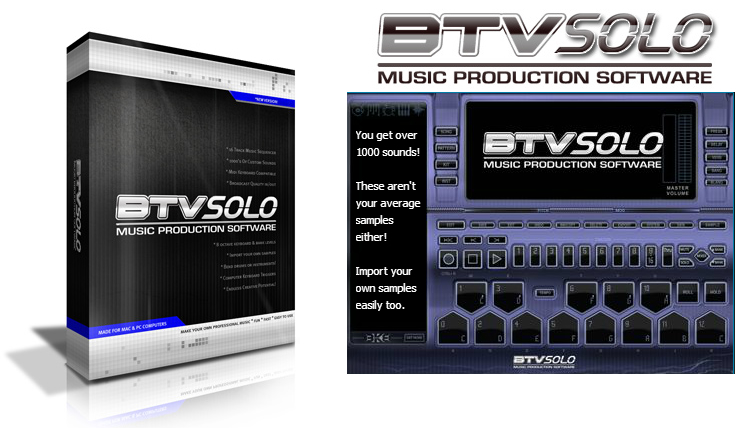BTVSolo Beat Maker Screenshots