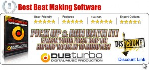 Dubturbo Voted Best Overall Beat Making Software - 5 Star Rating